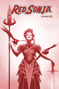 RED SONJA #15 21 COPY LEE TINT DRESSED FOC INCV