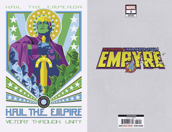 EMPYRE #3 (OF 6) 2ND PTG