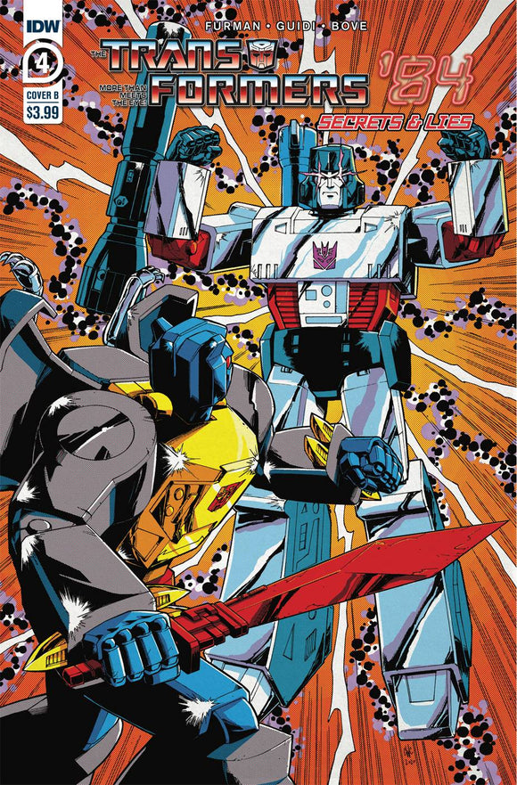 TRANSFORMERS 84 SECRETS & LIES #4 (OF 4) CVR B COLLER
