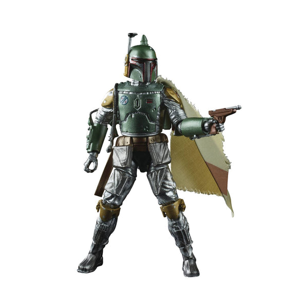 STAR WARS BLACK SER CARBONIZED BOBA FETT 6IN AF