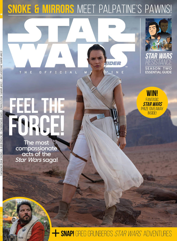 STAR WARS INSIDER #198 NEWSSTAND ED