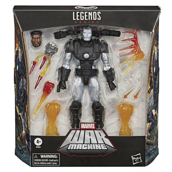 MARVEL LEGENDS WAR MACHINE DLX AF
