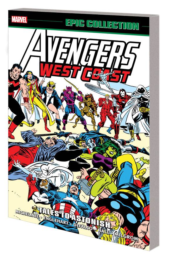 AVENGERS WEST COAST EPIC COLLECTION TP TALES TO ASTONI