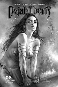 DEJAH THORIS 2019 #8 10 COPY PARRILLO B&W INCV