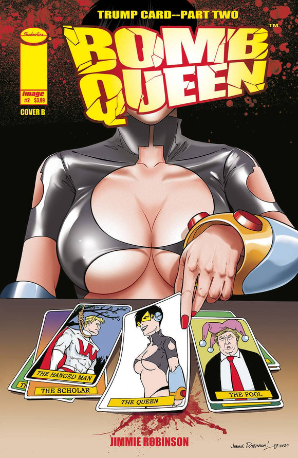 BOMB QUEEN TRUMP CARD #2 (OF 4) CVR B ROBINSON