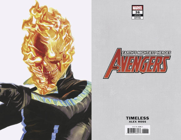 AVENGERS #36 ALEX ROSS GHOST RIDER TIMELESS VAR (2018)