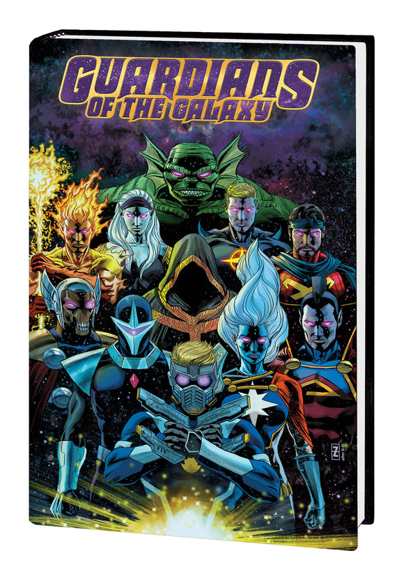 GUARDIANS OF THE GALAXY BY DONNY CATES HC