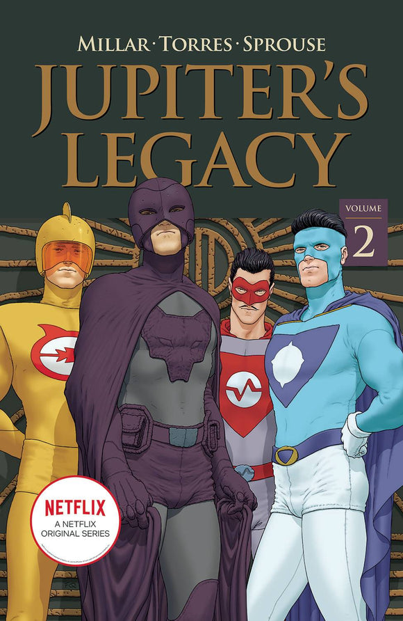 JUPITERS LEGACY TP VOL 02 NETFLIX ED