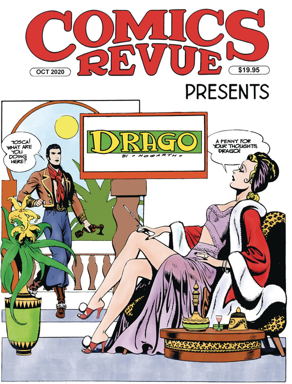 COMICS REVUE PRESENTS OCTOBER 2020