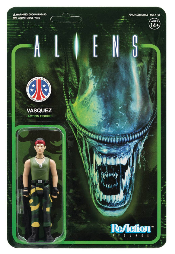 ALIENS VASQUEZ REACTION FIGURE