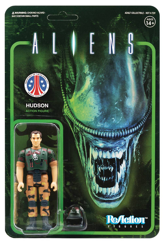 ALIENS HUDSON REACTION FIGURE