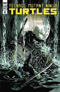 TMNT ONGOING #110 10 COPY INCV BEN BATES