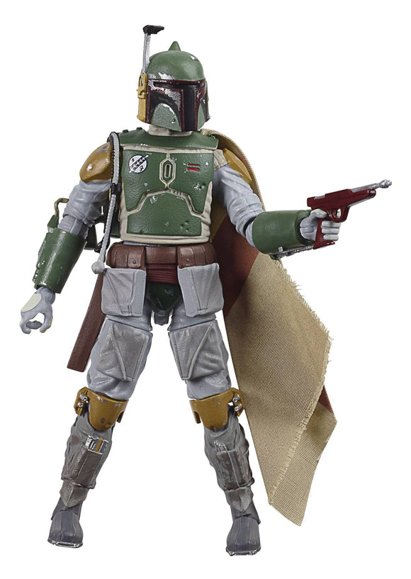 SW BLACK E5 40TH ANN 6IN BOBA FETT AF