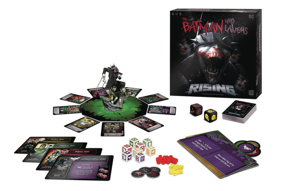 BATMAN WHO LAUGHS RISING BOARD GAME