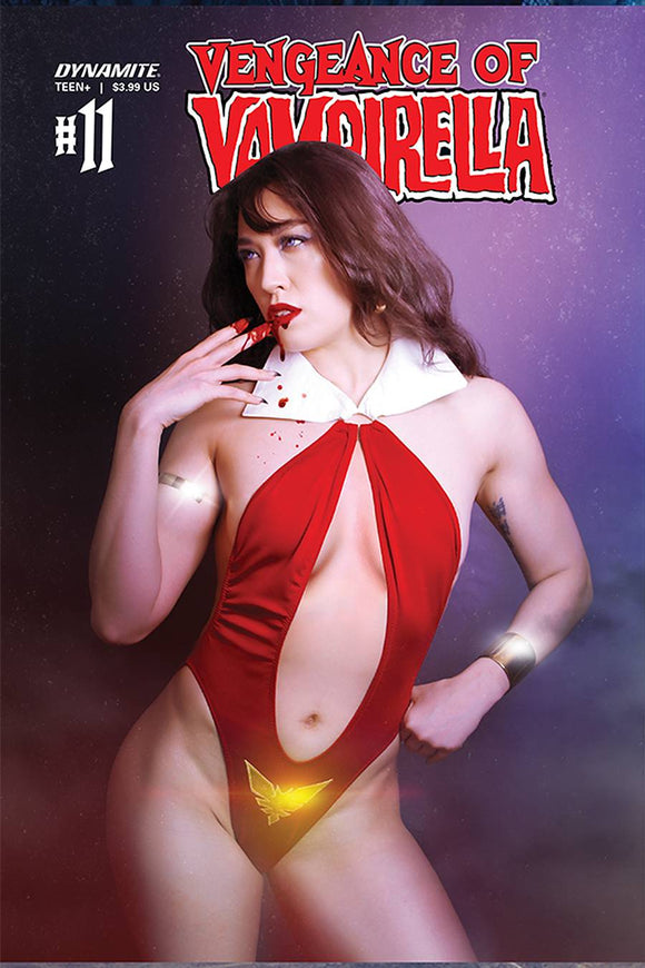 VENGEANCE OF VAMPIRELLA #11 CVR D LEE COSPLAY