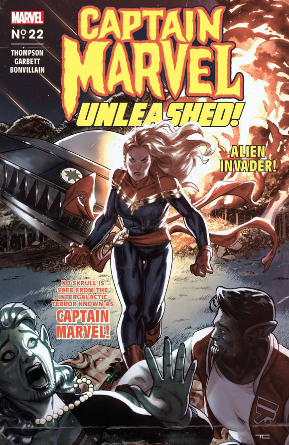 CAPTAIN MARVEL #22 CLARKE CAPTAIN MARVEL UNLEASHED HOR