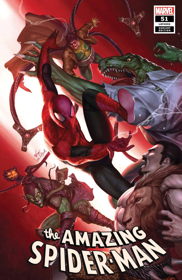 AMAZING SPIDER-MAN #51 INHYUK LEE VAR LAST
