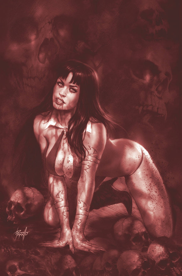 VAMPIRELLA #12 21 COPY PARRILLO TINT VIRGIN FOC INCV