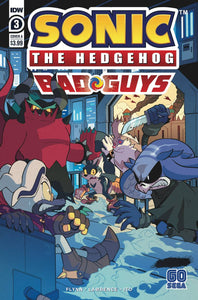 SONIC THE HEDGEHOG BAD GUYS #3 (OF 4) CVR A HAMMERSTROM