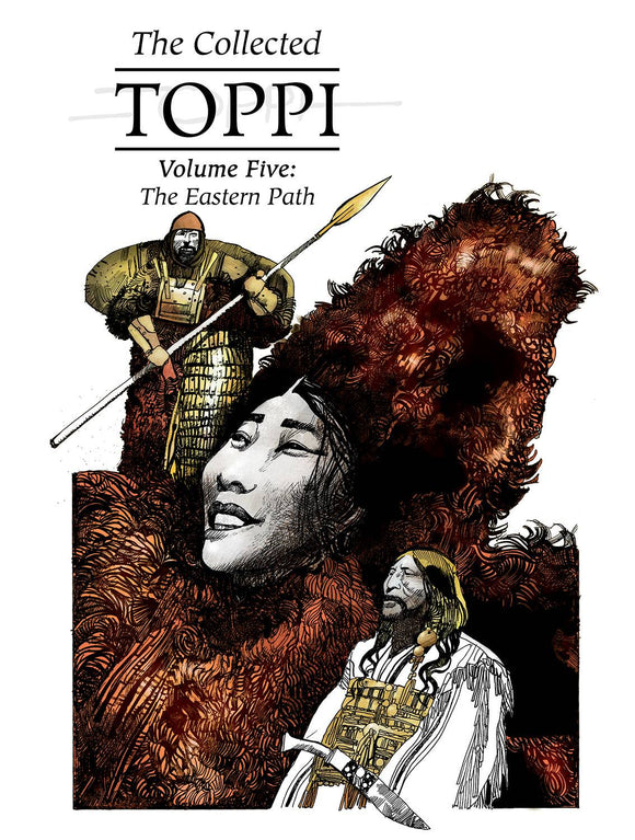 COLLECTED TOPPI HC VOL 05 EASTERN PATH