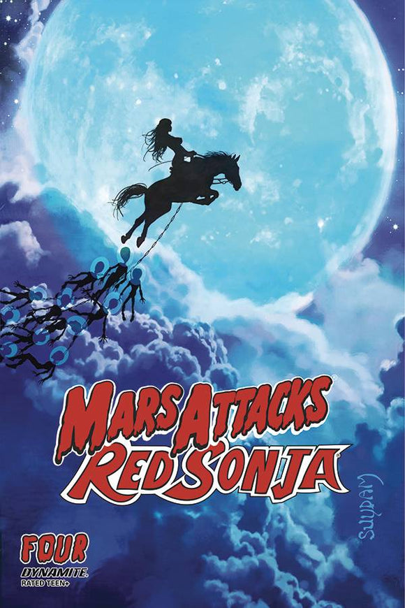 MARS ATTACKS RED SONJA #4 CVR A SUYDAM