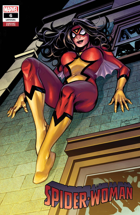 SPIDER-WOMAN #6 LUPACCHINO VAR