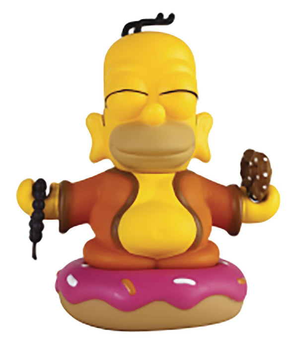 THE SIMPSONS BUDDHA HOMER 3IN VINYL FIG