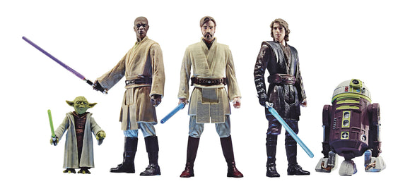 STAR WARS CELEBRATE THE SAGA 3-3/4IN JEDI ORDER 5PC AF SET