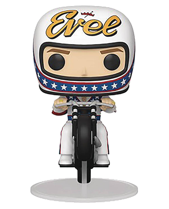 POP RIDES 101 EVEL KNIEVEL ON MOTORCYCLE