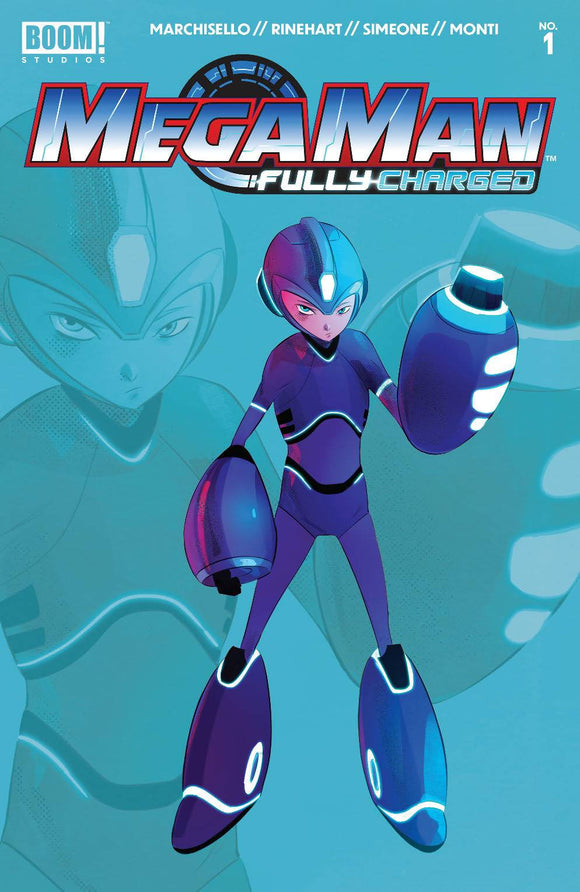 MEGA MAN FULLY CHARGED #1 CVR H 2ND PTG