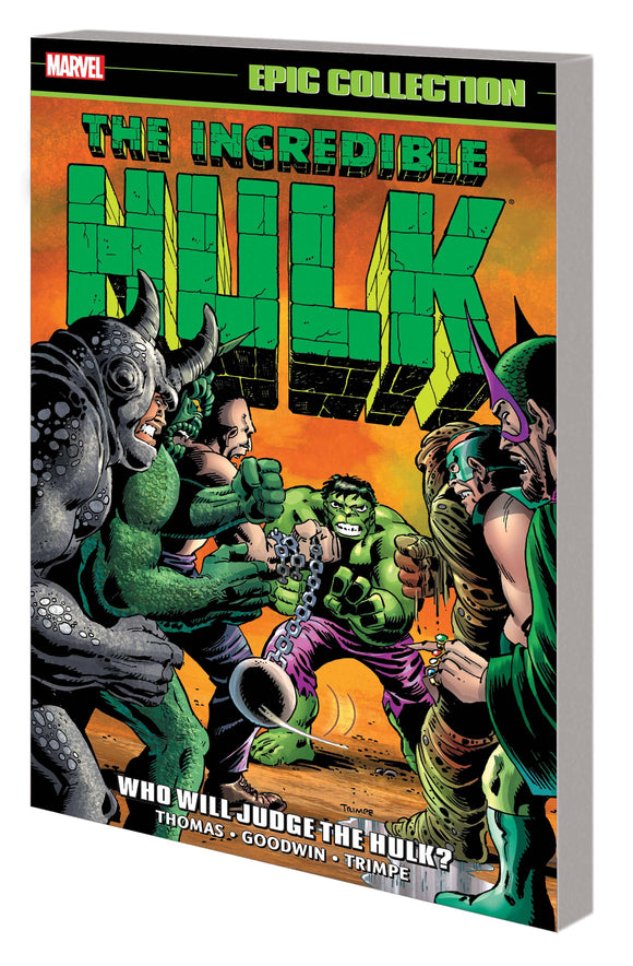 INCREDIBLE HULK EPIC COLLECTION TP WHO WILL JUDGE THE