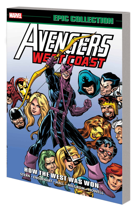 AVENGERS WEST COAST EPIC COLLECTION TP HOW THE WEST WA