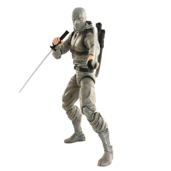 ARTICULATED ICONS BASIC NINJA GREY 6IN AF