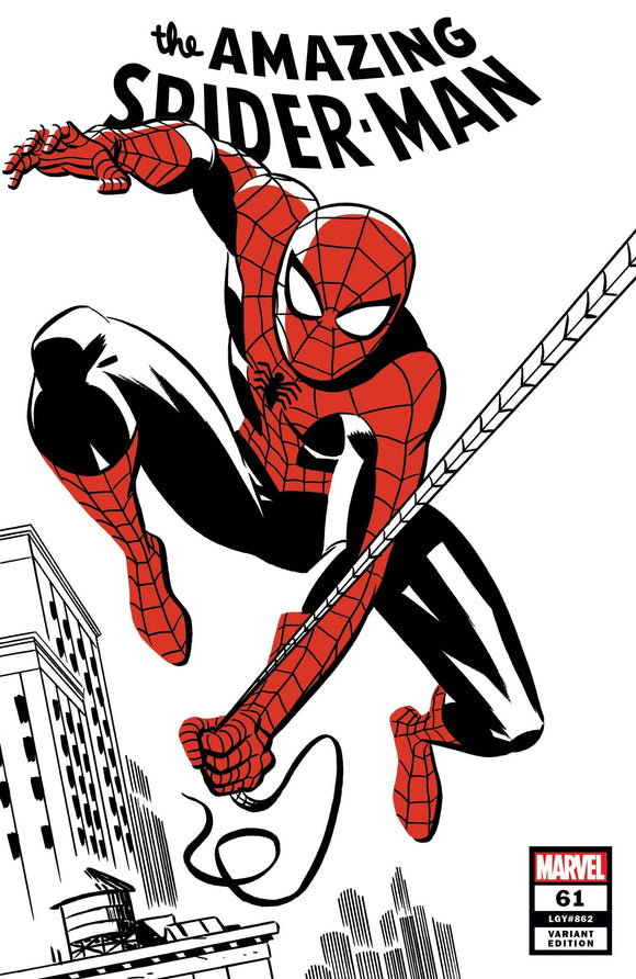 AMAZING SPIDER-MAN #61 MICHAEL CHO SPIDER-MAN TWO-TONE
