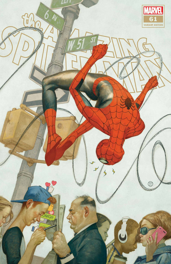 AMAZING SPIDER-MAN #61 TEDESCO VAR