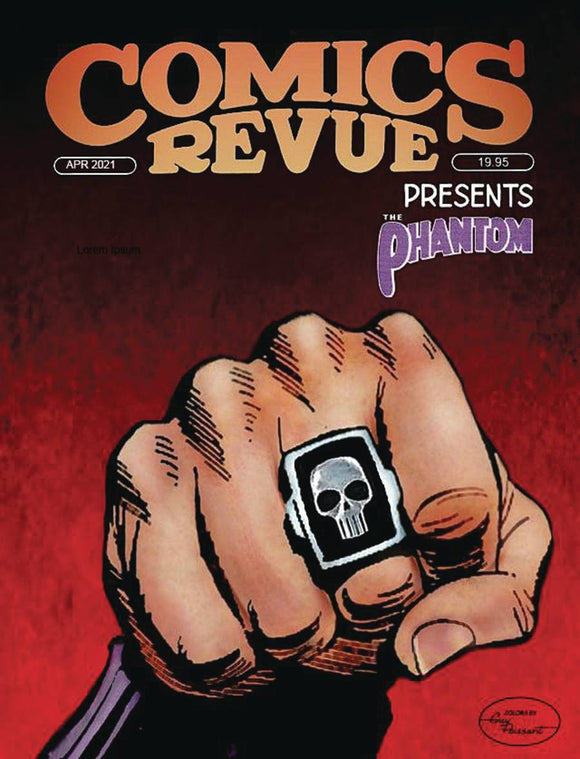 COMICS REVUE PRESENTS APRIL 2021