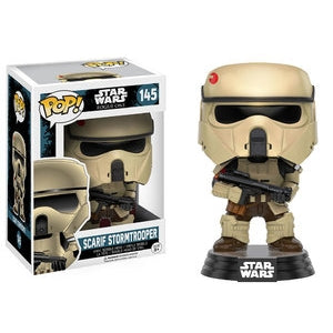 POP STAR WARS 145 ROGUE ONE SCARIF STORMTROOPER VINYL FIG