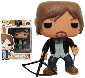 POP TV 96 WALKING DEAD BIKER DARYL PX VINYL FIG