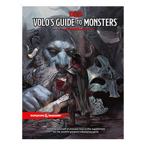 D&D RPG VOLOS GUIDE TO MONSTERS