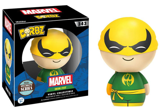 DORBZ 343 MARVEL IRON FIST (SPECIALTY SERIES)