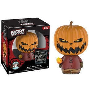 DORBZ 233 NIGHTMARE BEFORE CHRISTMAS PUMPKIN KING SPECIALTY SERIES
