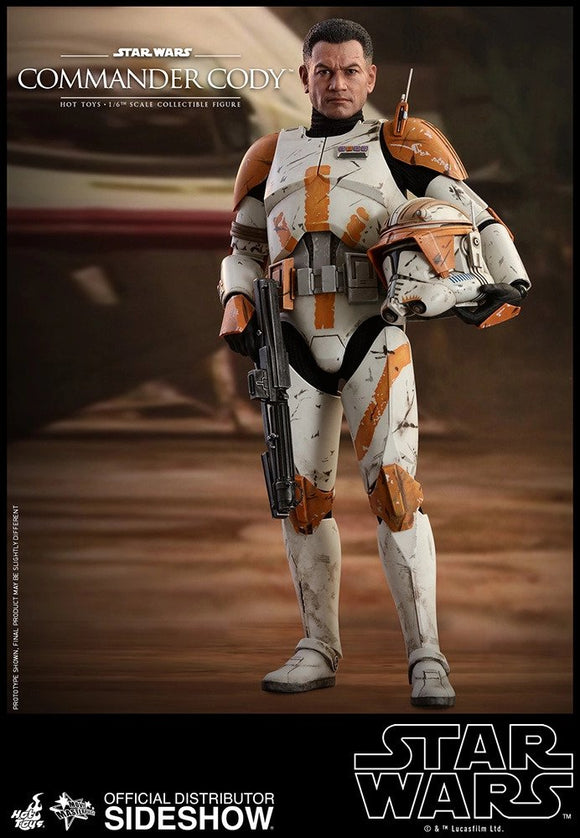 HOT TOYS STAR WARS EPISODE III - COMMANDER CODY 1/6 SCALE FIGURE