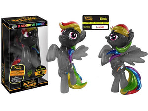 HIKARI MY LITTLE PONY GLITTER NOIR RAINBOW DASH