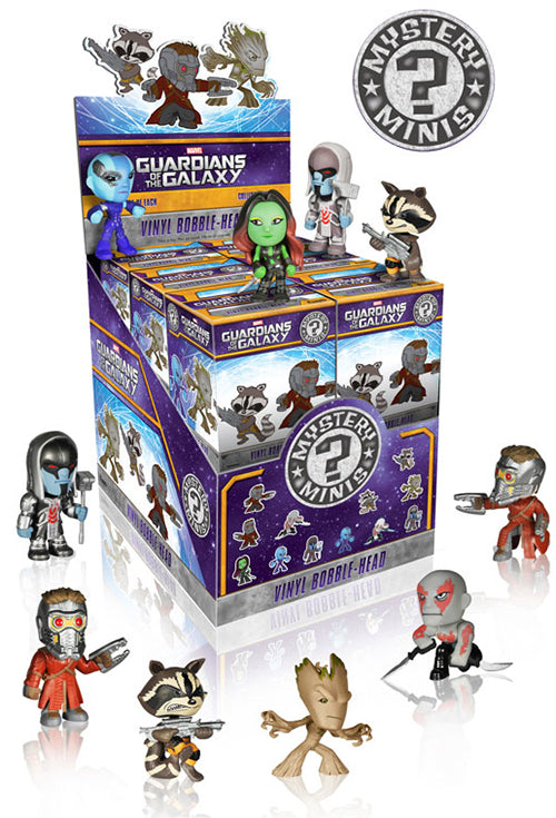 GUARDIANS OF THE GALAXY MYSTERY MINIS