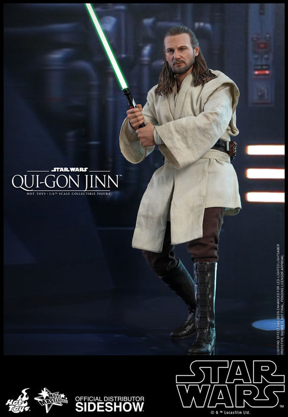 HOT TOYS STAR WARS EPISODE I - QUI-GON JINN 1/6 SCALE FIGURE