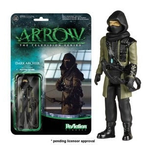 REACTION ARROW ACTION FIGURE DARK ARCHER