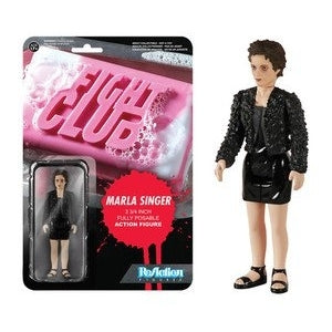 REACTION FIGHT CLUB MARLA SINGER ACTION FIGURE