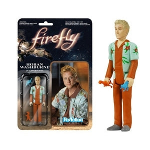 REACTION FIREFLY HOBAN WASHBURNE ACTION FIGURE