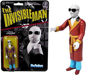 REACTION UNIV MONSTERS INVISIBLE MAN ACTION FIGURE