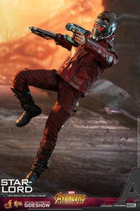 HOT TOYS AVENGERS INFINITY WAR - STAR-LORD 12 IN FIGURE